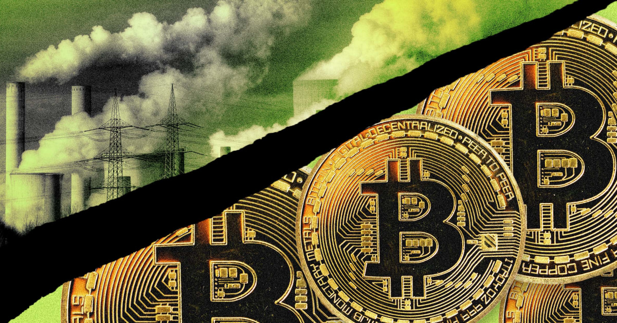 Bitcoin miners align with fossil fuel firms, alarming environmentalists