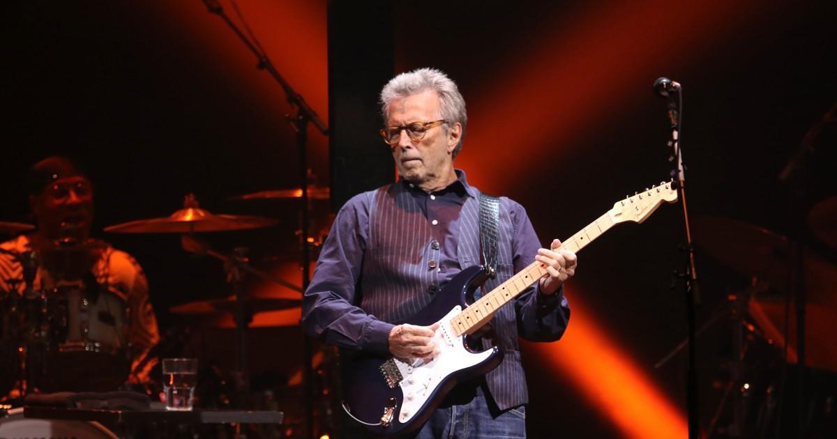 Eric Clapton's Covid vaccine conspiracies mark a sad final act