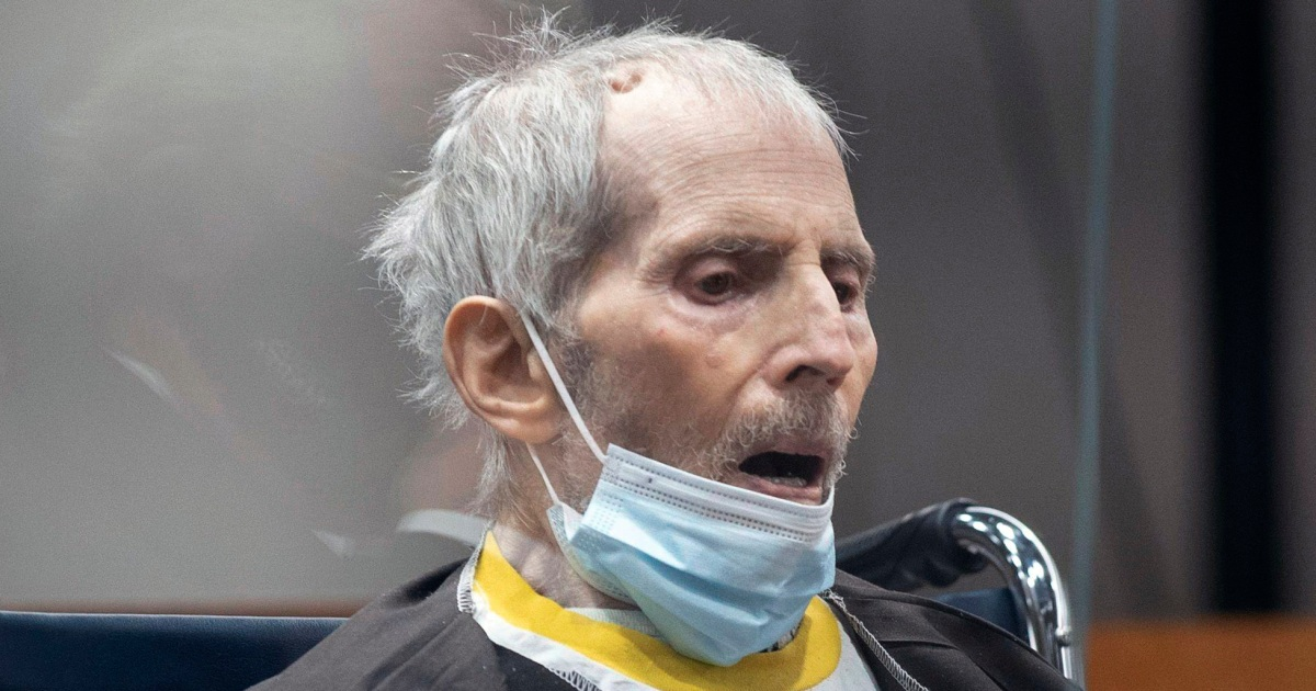 Robert Durst sick with Covid-19, and on a ventilator, following life in prison sentence, lawyer says