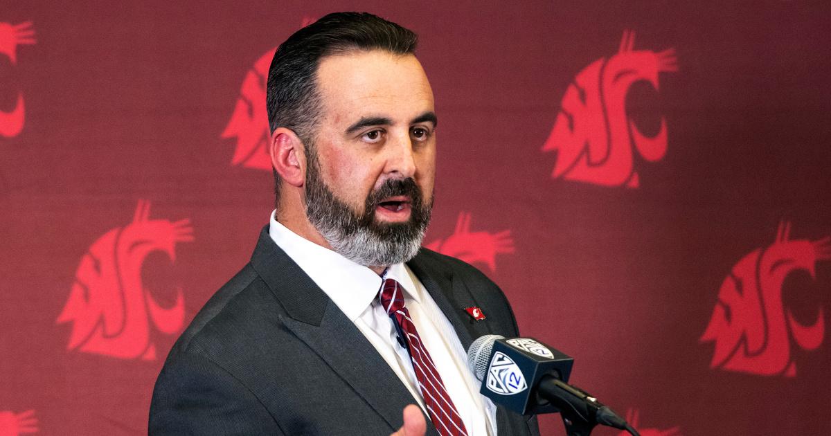 Washington State University fires head football coach for refusing Covid-19 vaccine