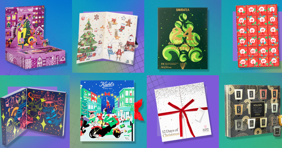 20 Advent calendars for 2021 to shop this holiday season