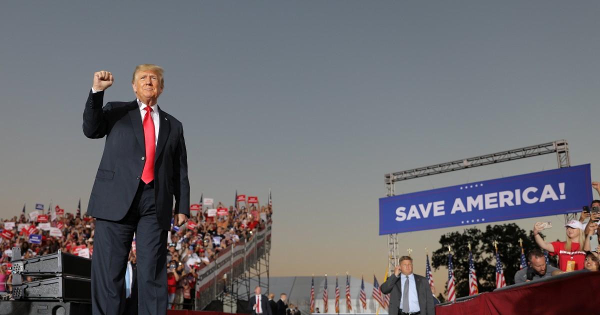As Trump's grip on the GOP tightens, Washington Republicans shrug