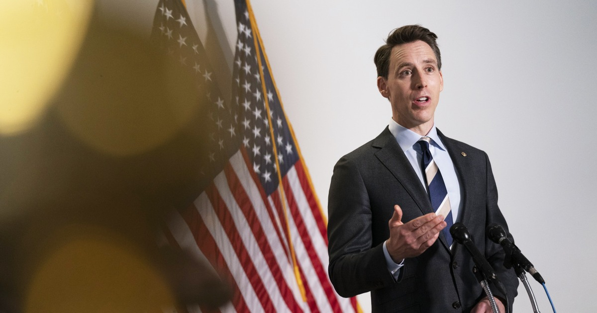 Already in a ditch, Josh Hawley finds a shovel, keeps digging
