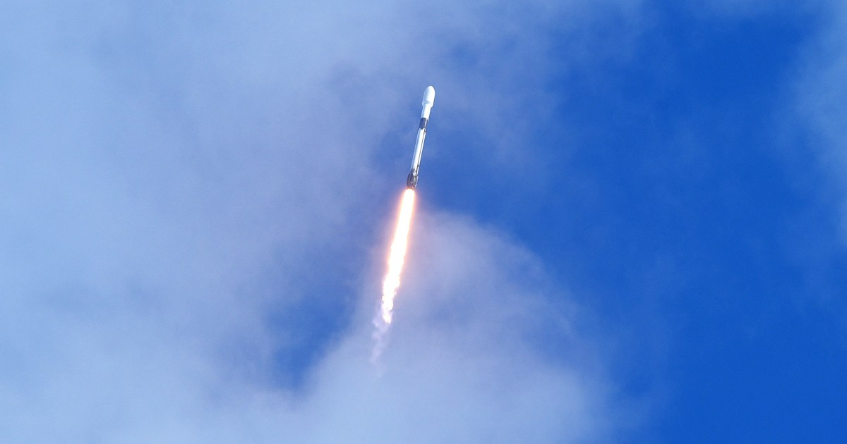SpaceX launches record number of spacecraft in cosmic rideshare program