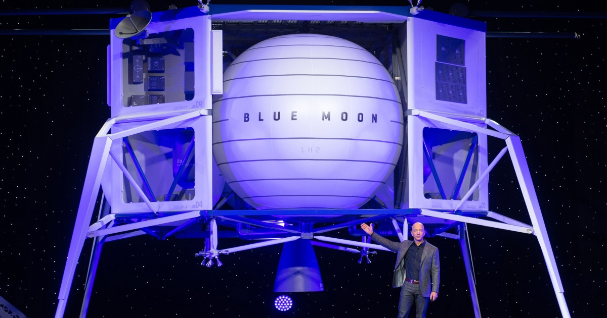 An unleashed Jeff Bezos looks to shift space venture Blue Origin into hyperdrive - NBC News