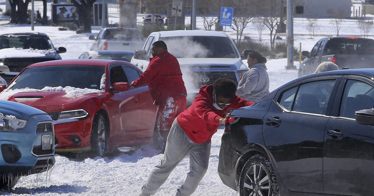 How 'topsy turvy' polar vortex brought record freeze to Texas
