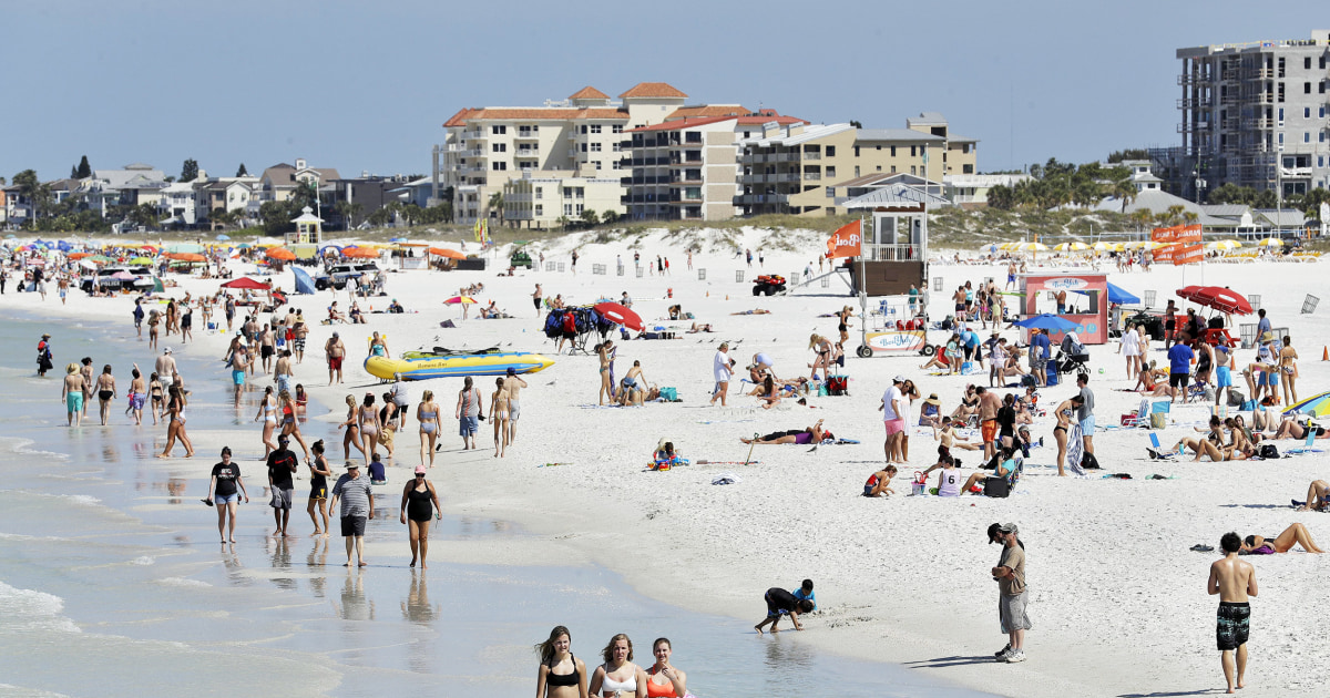 As spring break approaches, public health experts urge caution