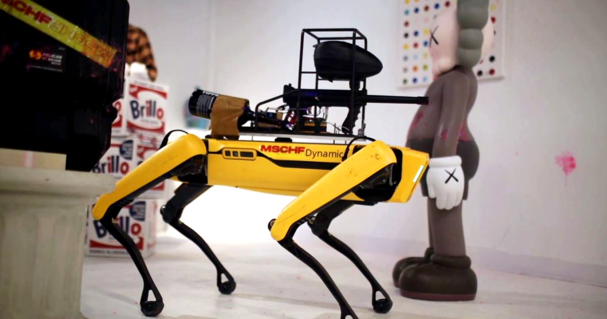 www.nbcnews.com: Armed and dangerous? Online art project takes aim at militarization of robotics