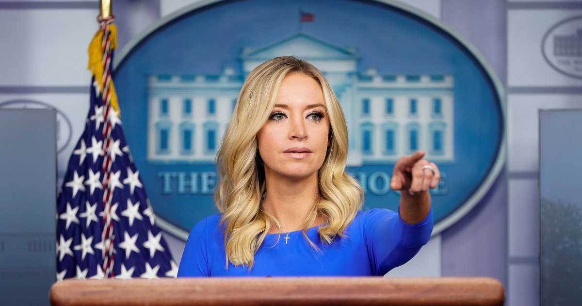 Former White House press secretary Kayleigh McEnany joins Fox News