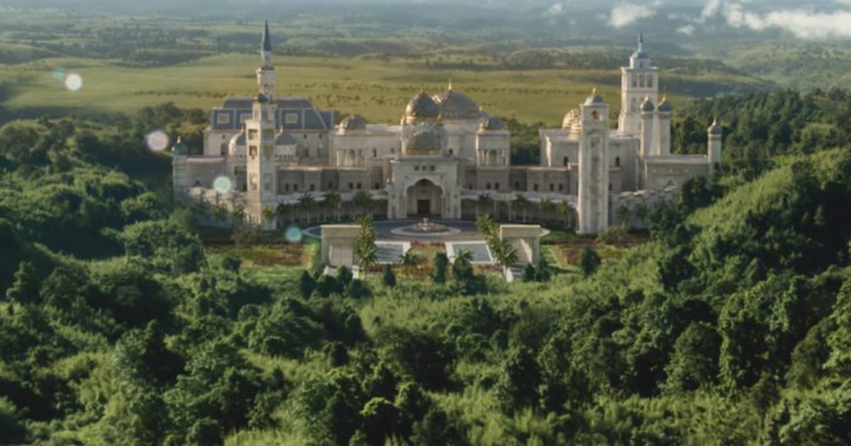 That Zamundan Palace in 'Coming 2 America' is rapper Rick Ross' real-life house - NBC News