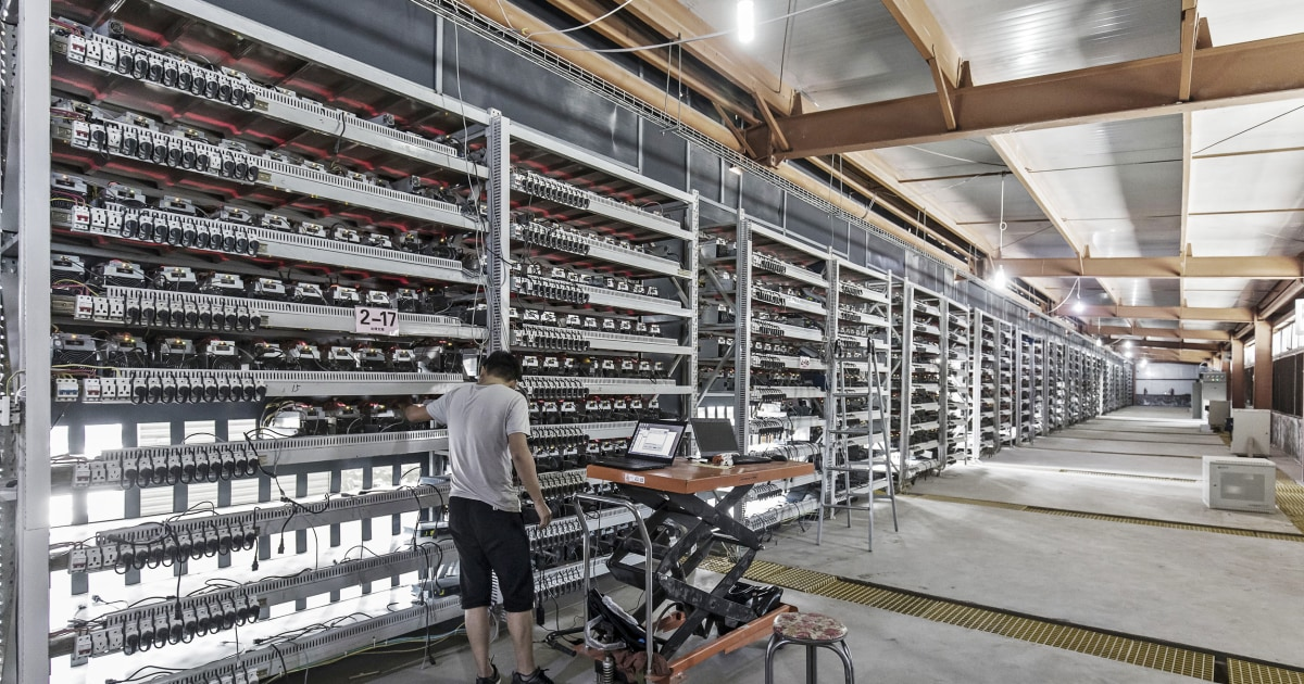 China's bitcoin mining is threatening its climate change targets, study says