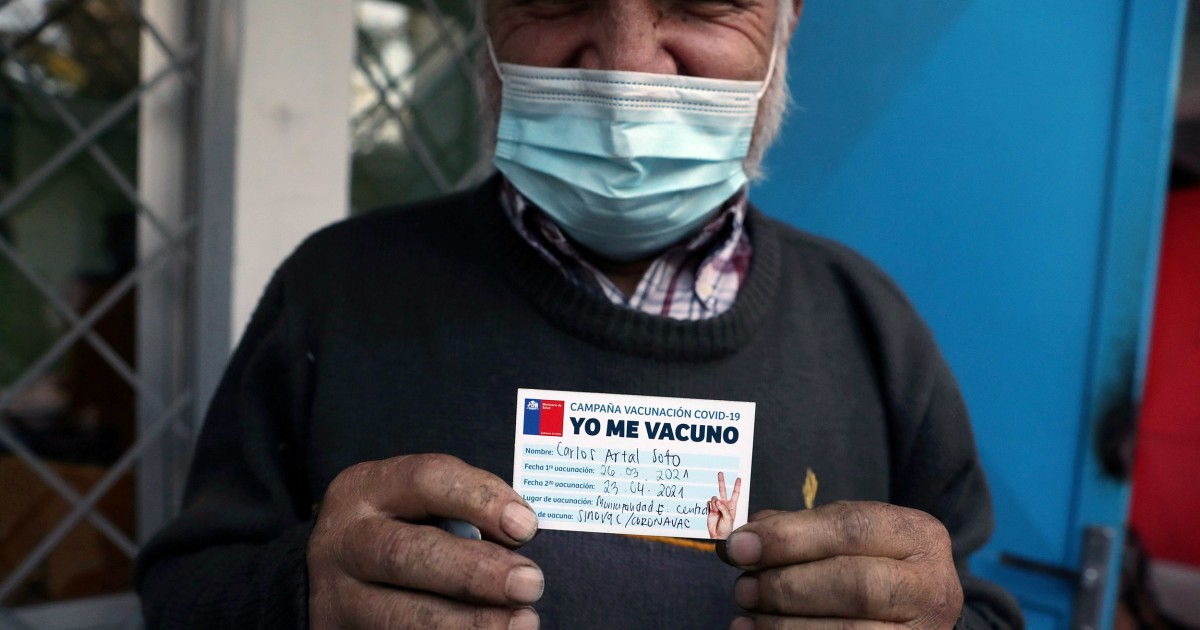 Chile shifts Covid vaccine drive to second doses amid concerns over first shot's protection