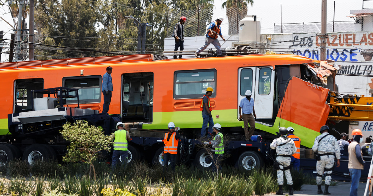 Mexico rail collapse deals blow to López Obrador's likely successors