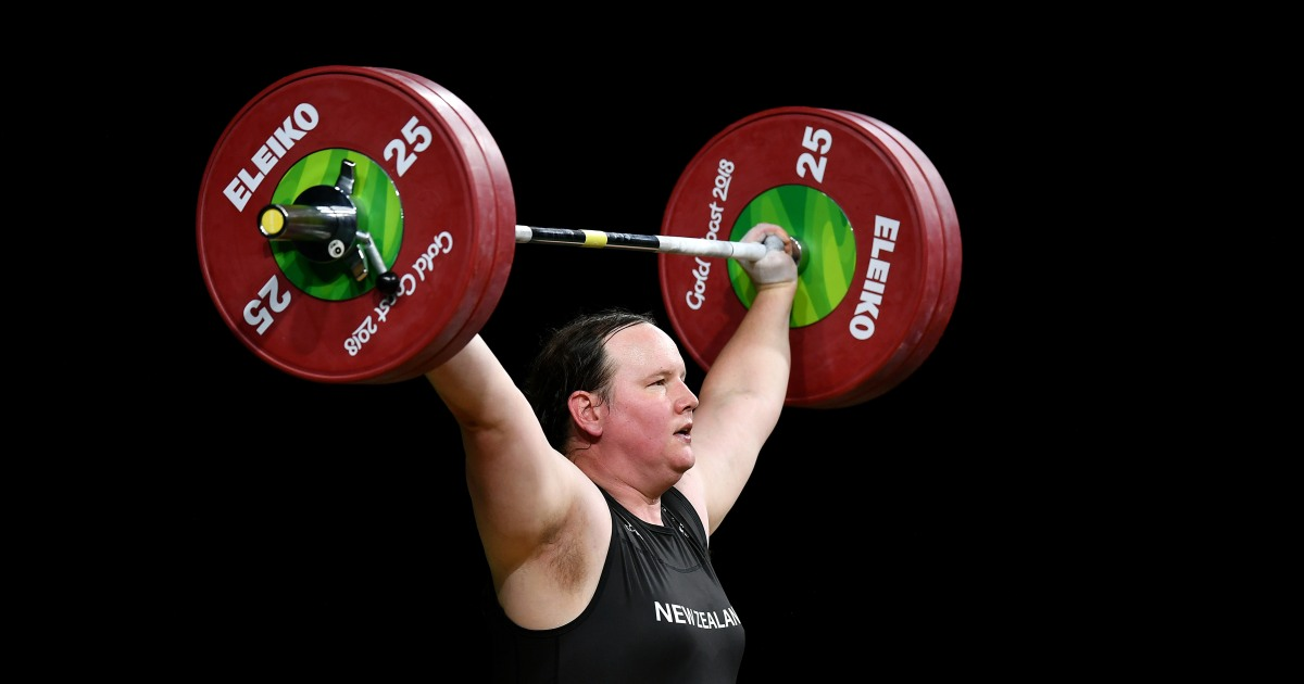 Weightlifter poised to become first transgender Olympian
