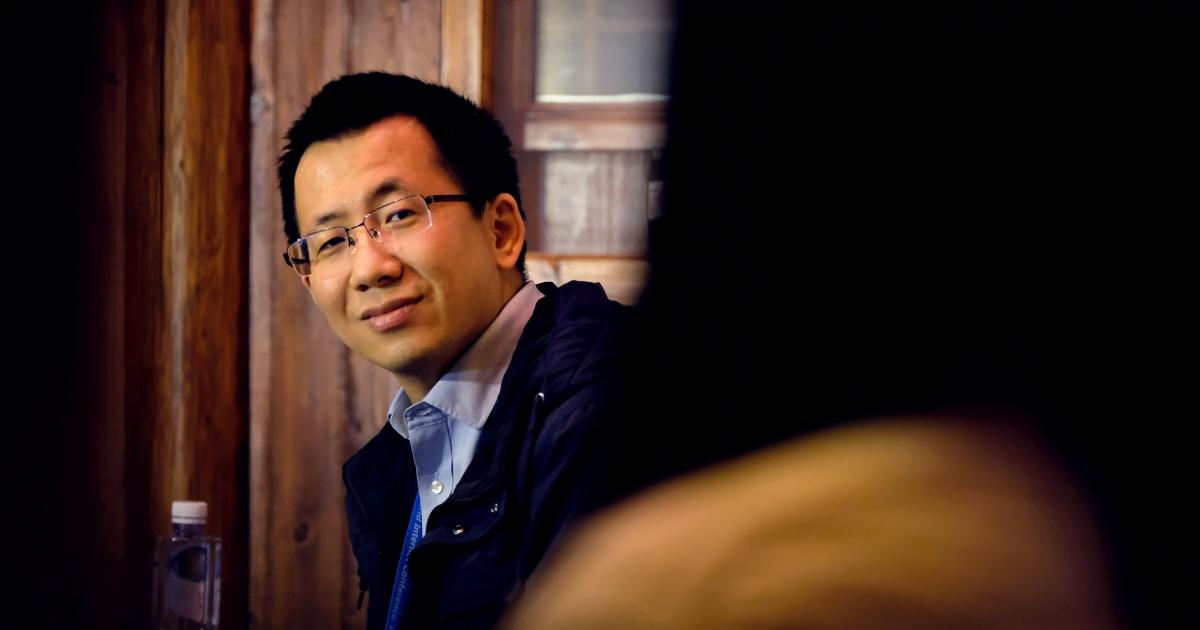 CEO of TikTok's parent company steps down