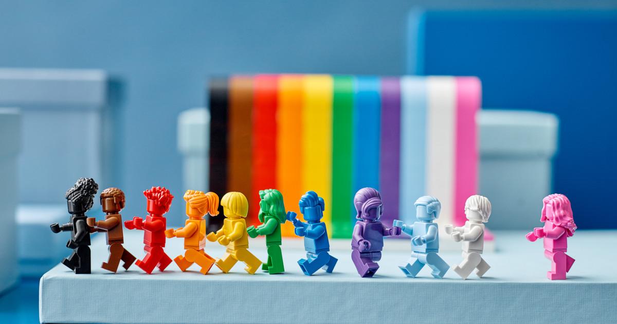 Lego announces 1st rainbow set ahead of LGBTQ Pride month