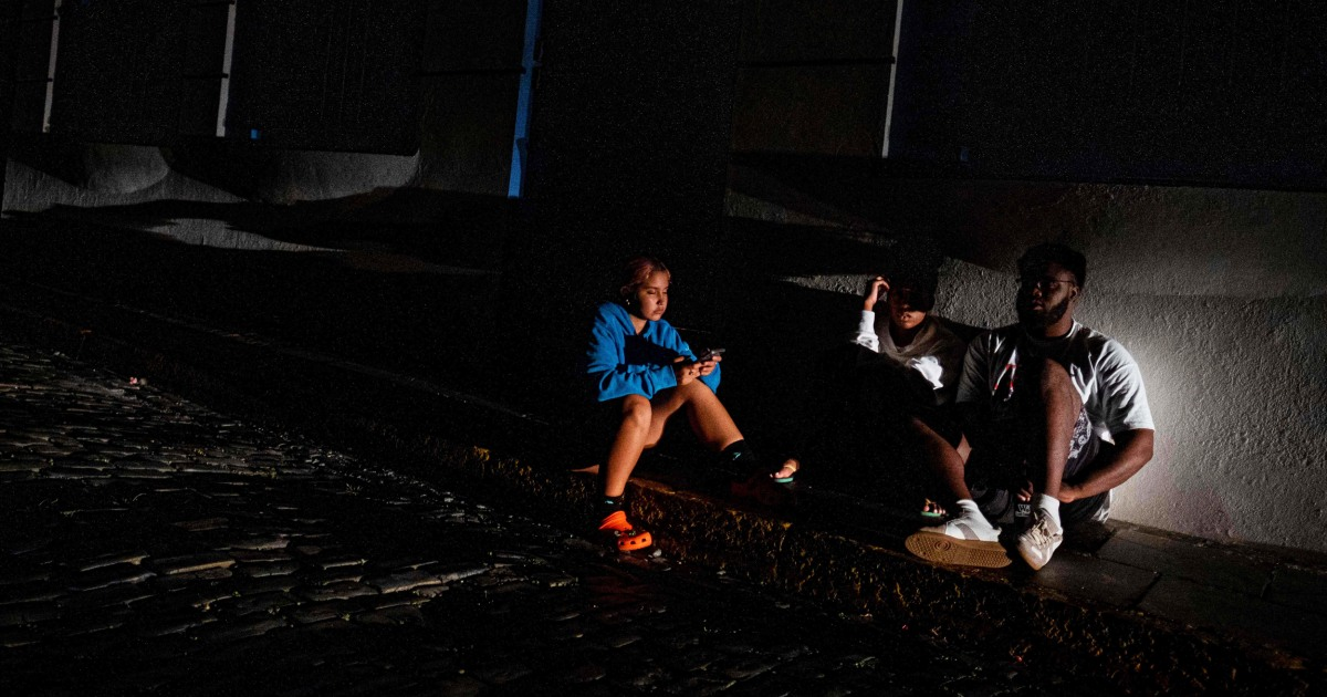 Power outage hits 337K in Puerto Rico amid growing outrage