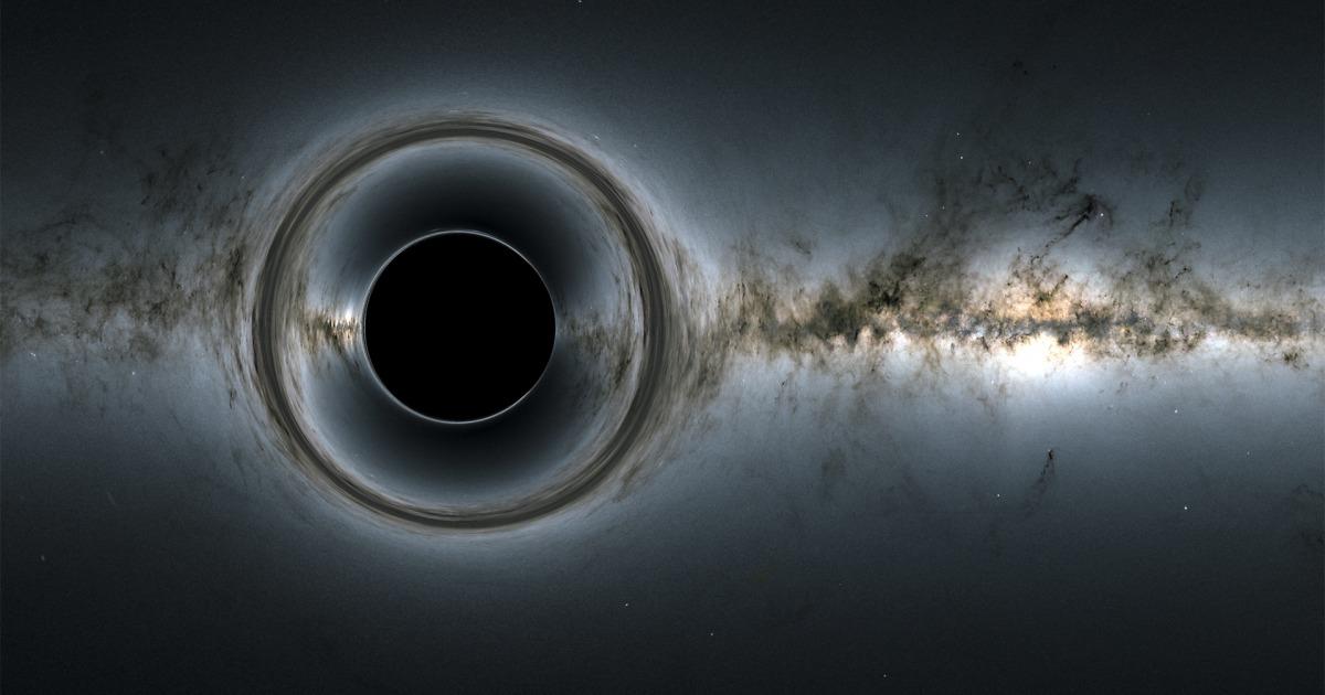 Einstein right, again: Researchers see light 'echo' around black hole