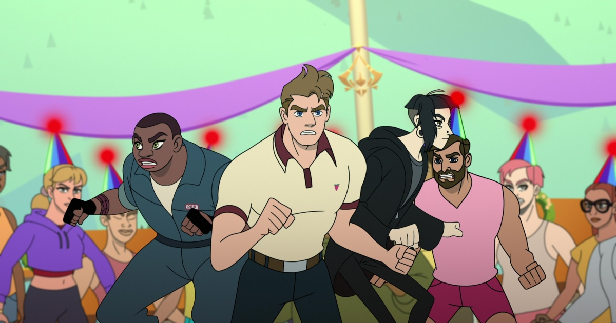 Lesbian mechanic, drag queen and 'gay James Bond' are misfit spy team in 'Q-Force'