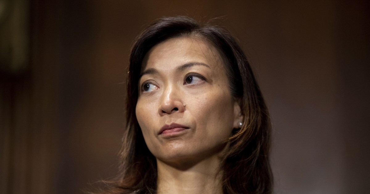 Biden pick Florence Pan confirmed as first Asian American woman on D.C. federal court