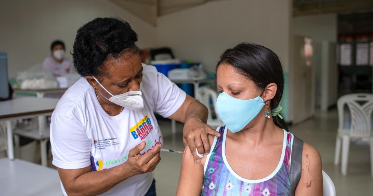 Image Venezuela: 'Deep concern' over use of Cuba's Covid vaccine