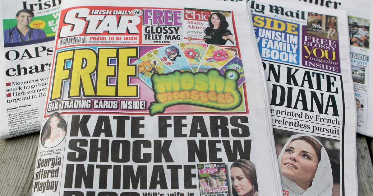 Wednesday 1211 In Cambridge Shut Up >> Irish Daily Star Editor Resigns For Publishing Nude Kate