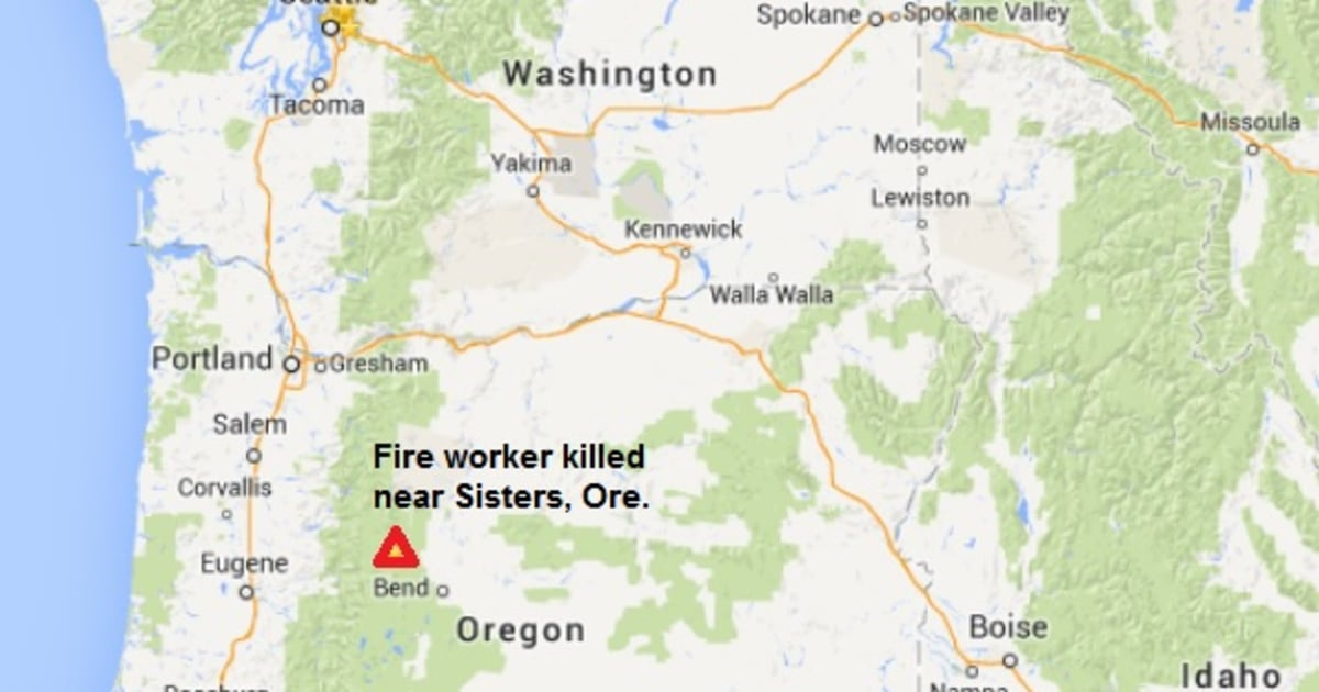 One man killed, another injured helping fight Oregon forest fire