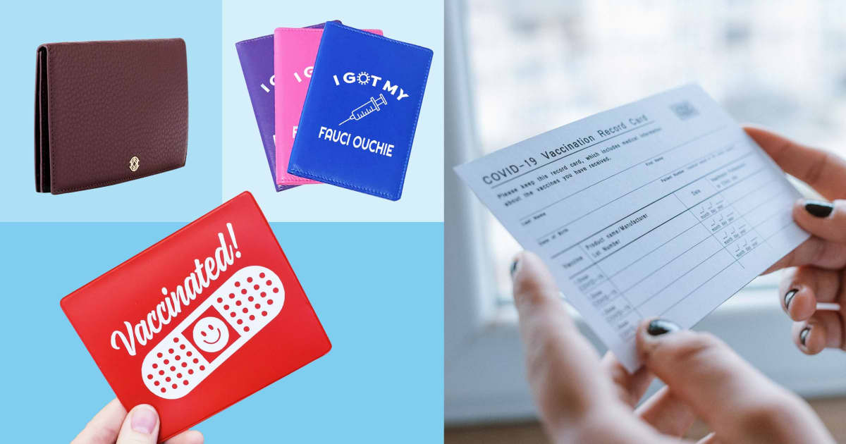 15 best Covid-19 vaccination card holders in 2021