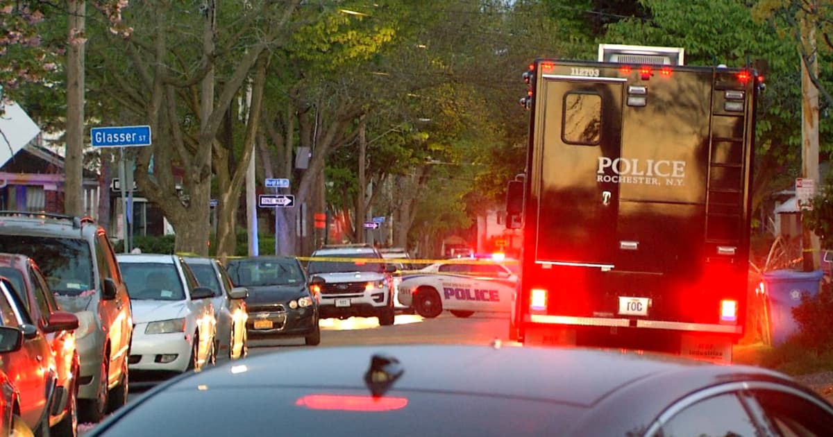 Police fatally shoot driver in Rochester, New York