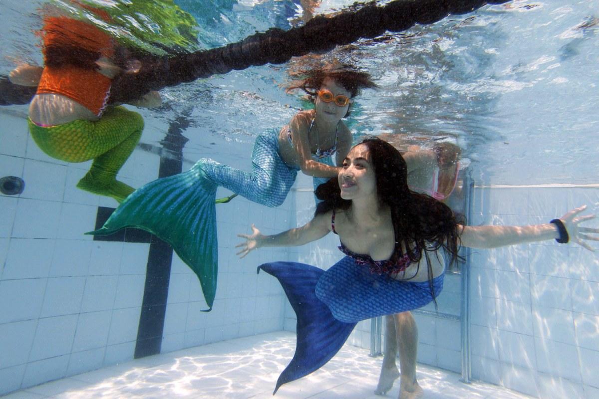 Making A Splash At The Mermaid Academy Nbc News
