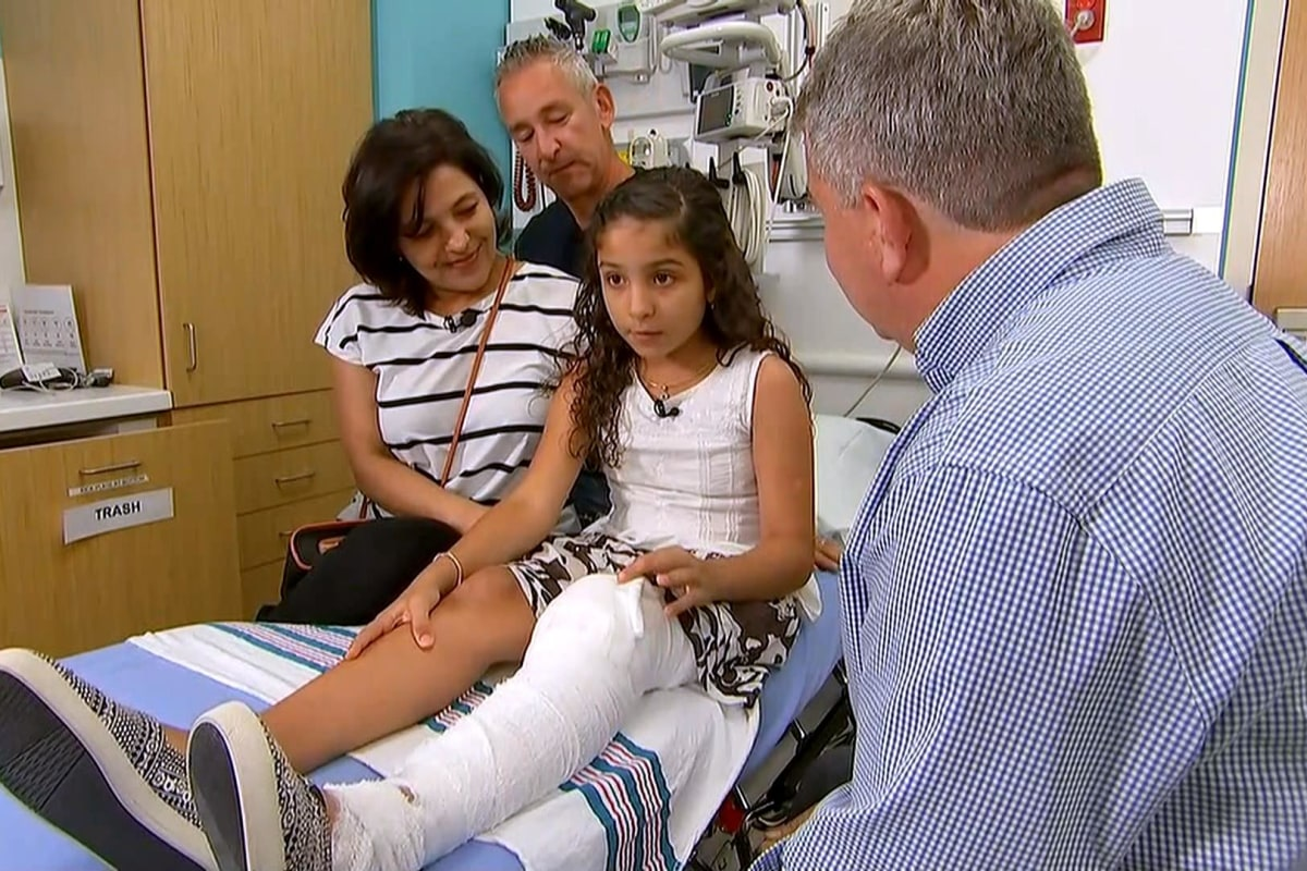 10-Year-Old Florida Girl Pries Leg From Alligator's Mouth ...