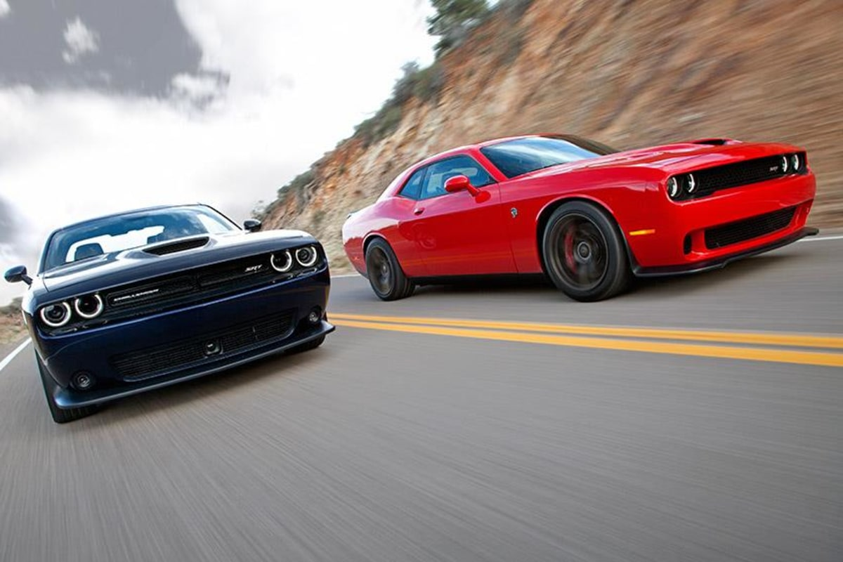 The newest Dodge Challenger has a 707-horsepower, supercharged Hemi V-8 under the hood.