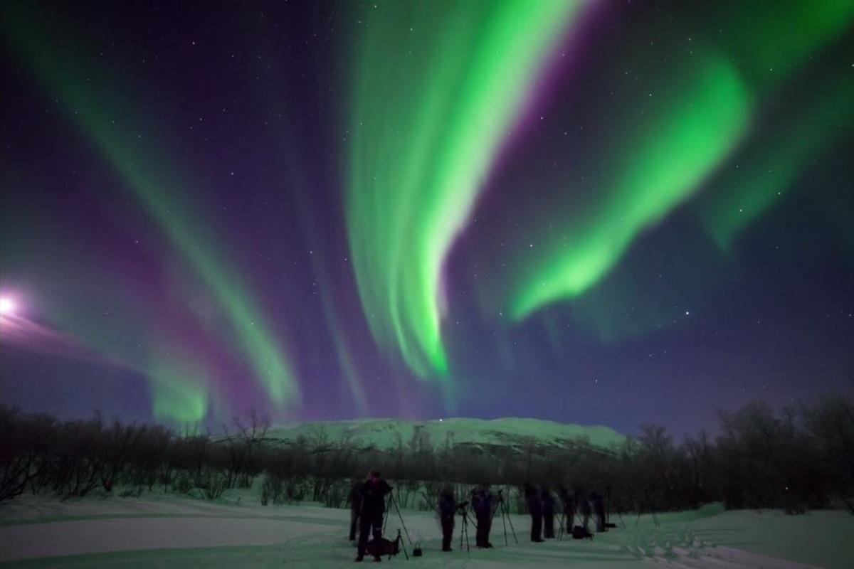 Image: Swedish aurora