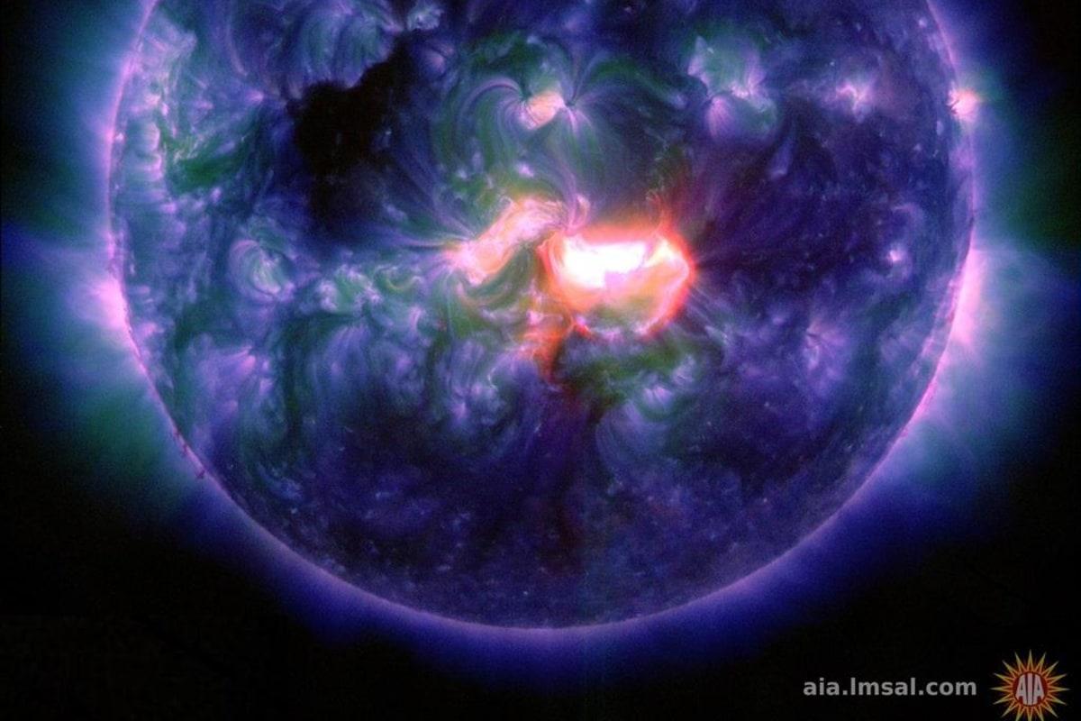 Image: Active sun