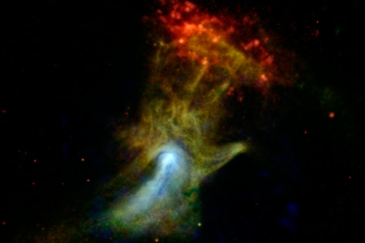 'Hand of God' space image