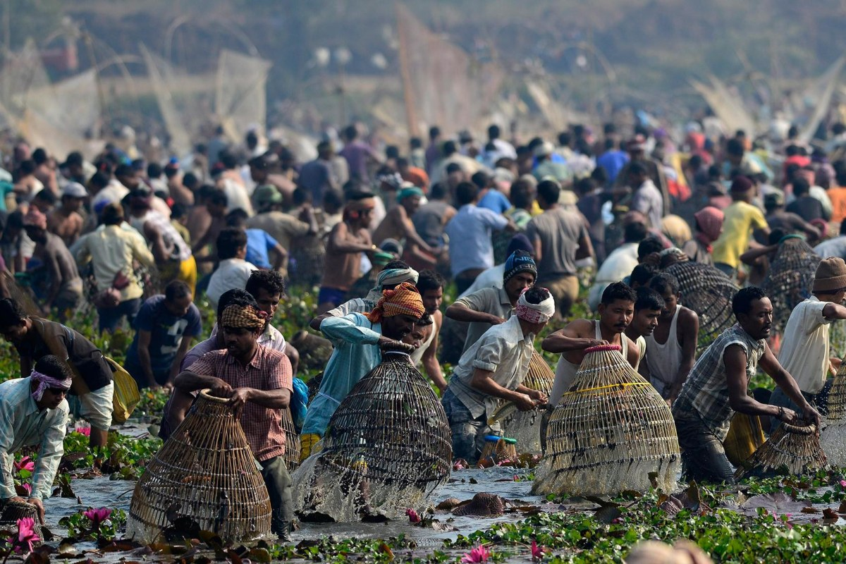 Image: Magh Bihu festival marking end of winter harvesting