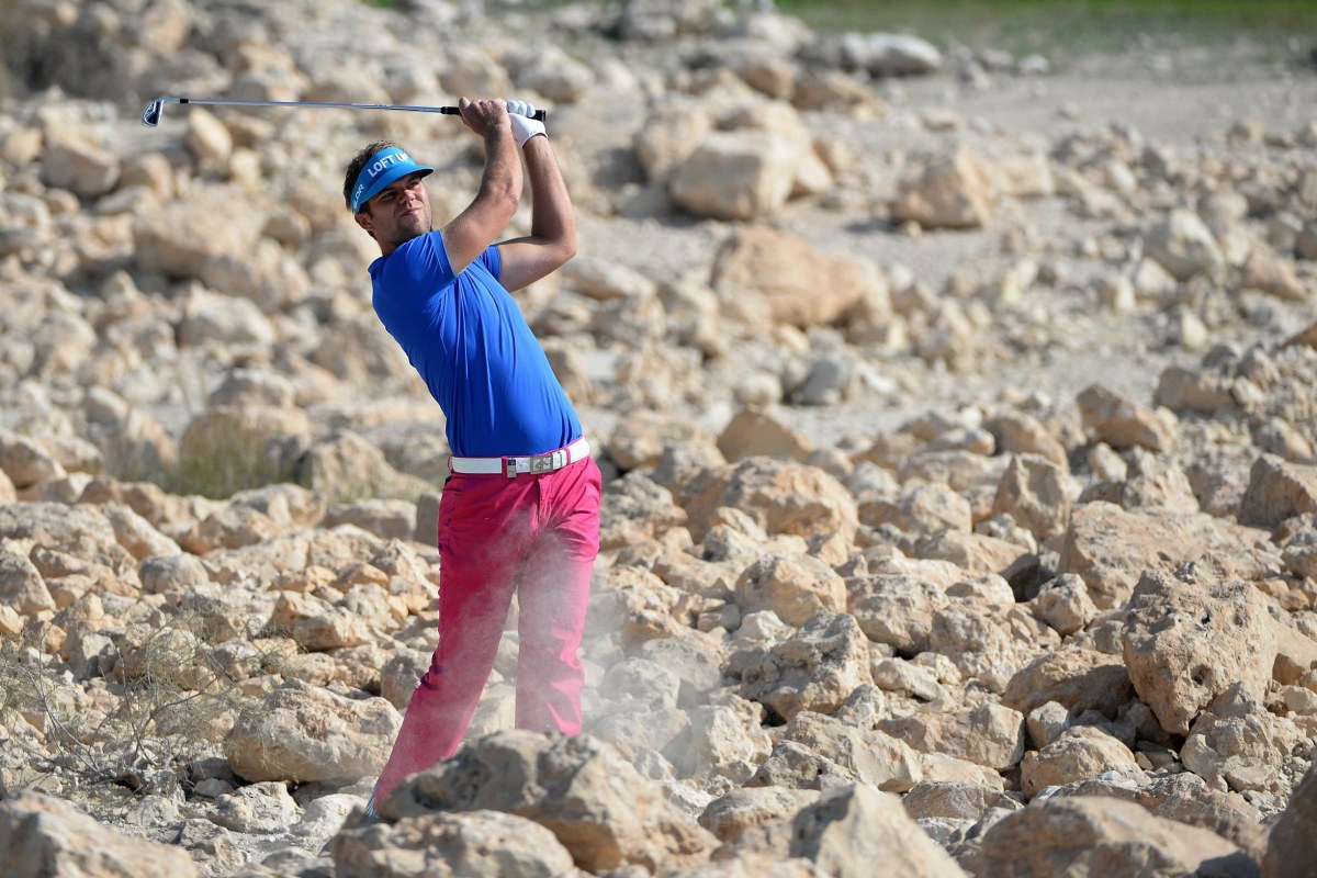 Image: Johan Carlsson of Sweden at the Qatar Masters.