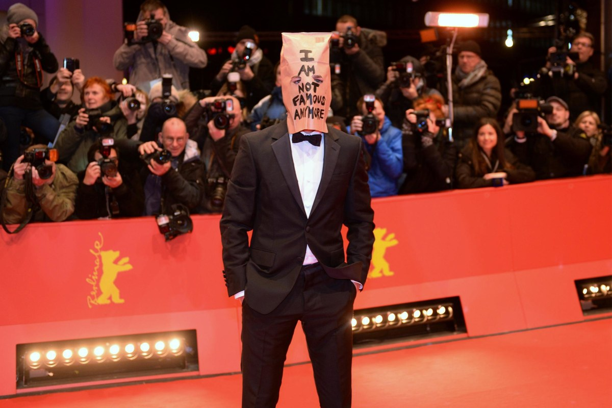 "Image: US actor Shia LaBeouf arrives on the red carpet for the screening of the film ""Nymphomaniac Volume I (Long Version)"""