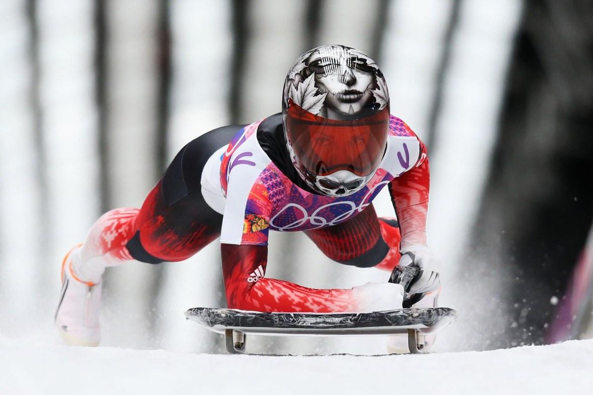 Image: Skeleton - Winter Olympics Day 7