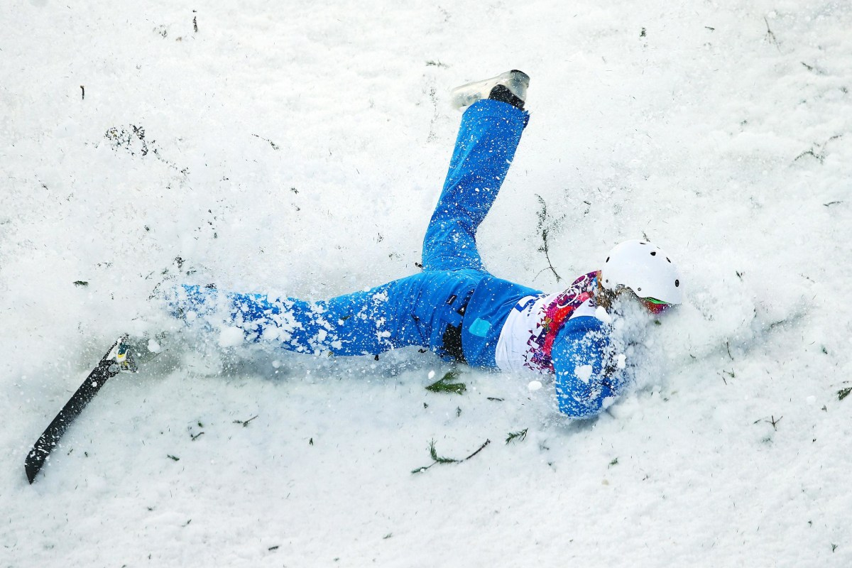 Image: Freestyle Skiing - Winter Olympics Day 7