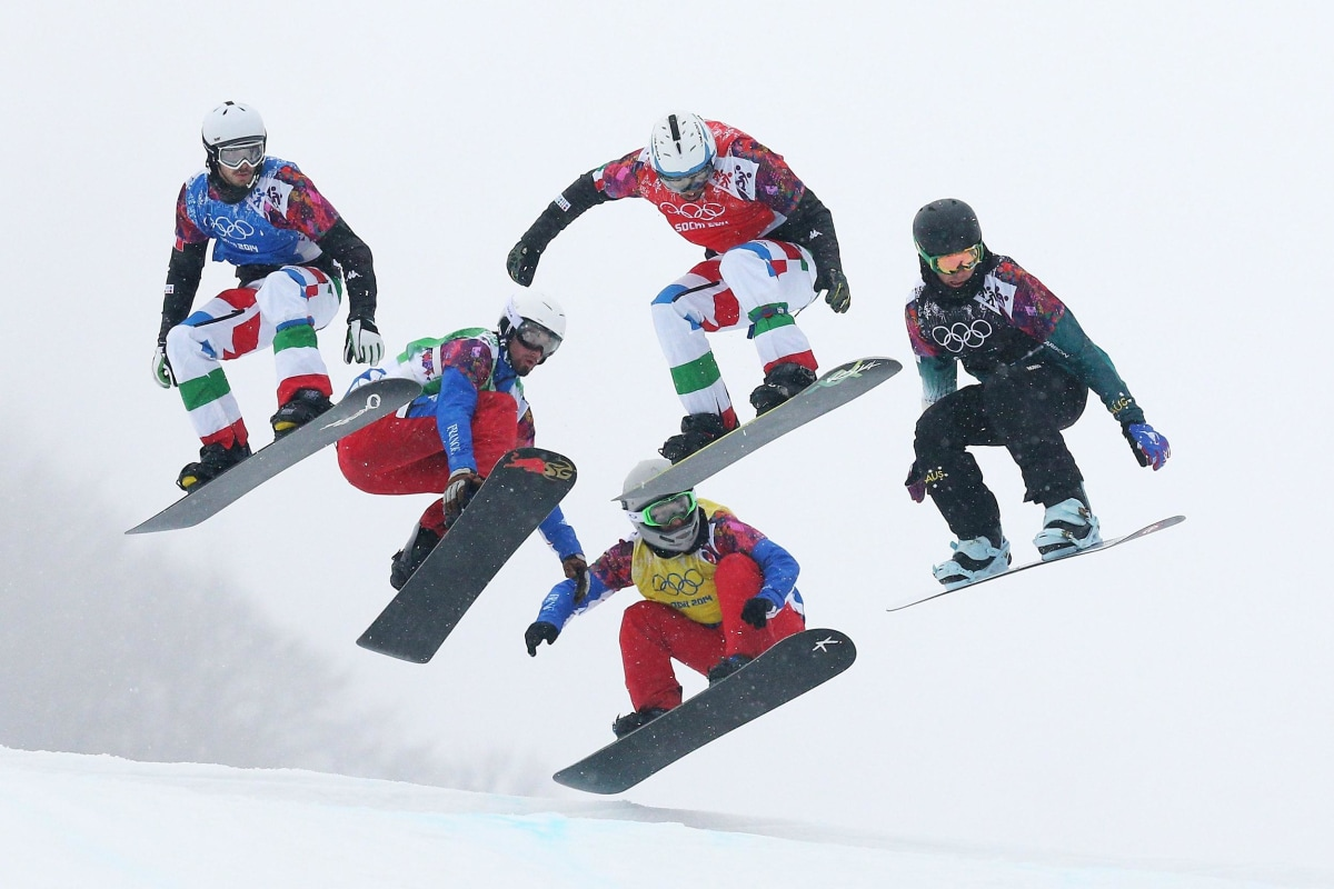 Image: Snowboard - Winter Olympics Day 11