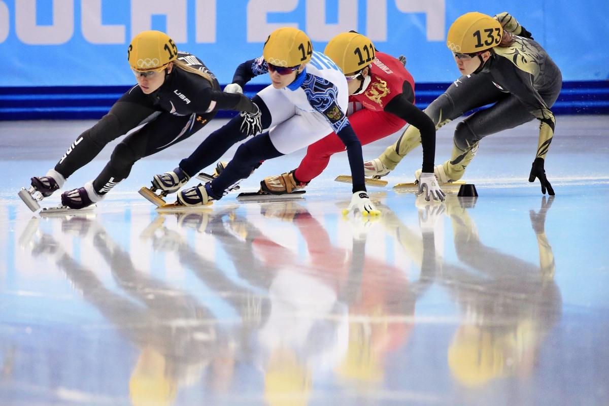 Image: Short Track Speed Skating