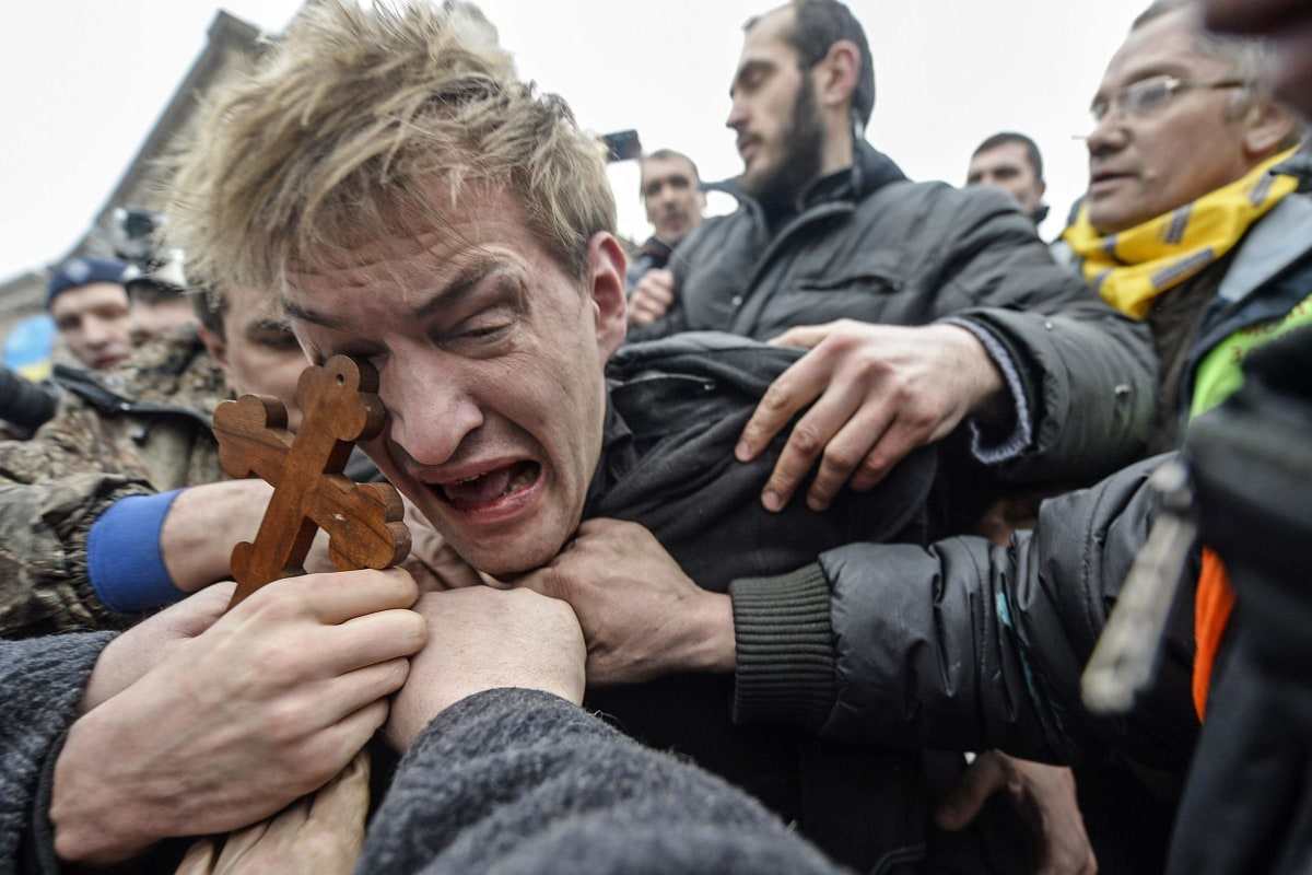 Image: UKRAINE-UNREST-EU-RUSSIA-POLITICS