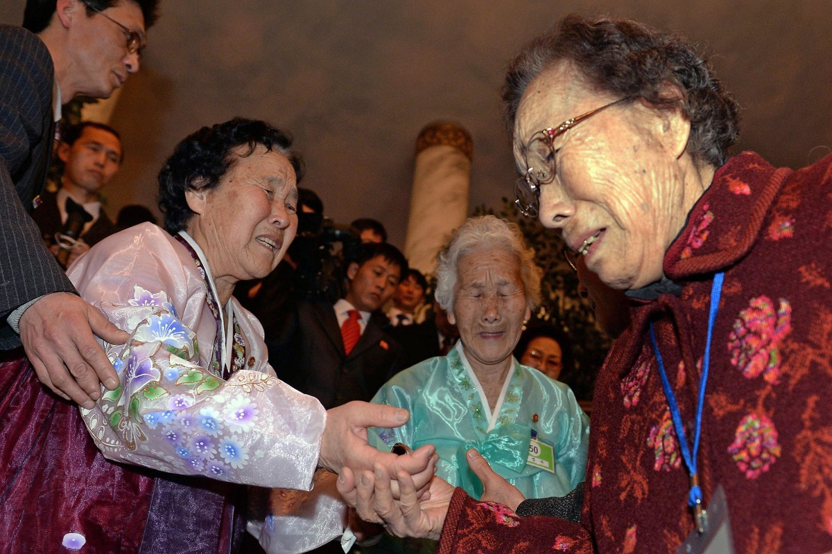 Image: South and North Korea Resume Family Reunions