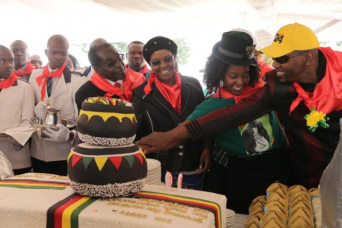 Image: President Robert Mugabe's birthday