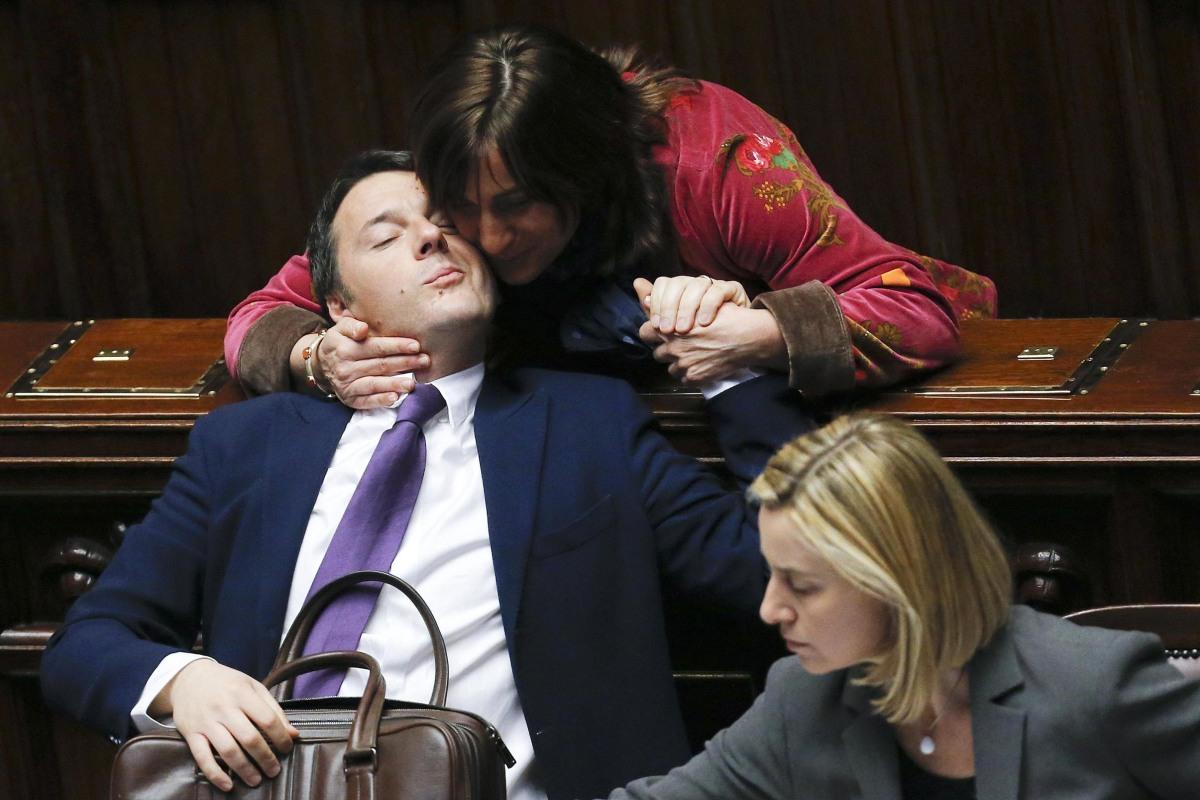 Image: Italy's PM Matteo Renzi