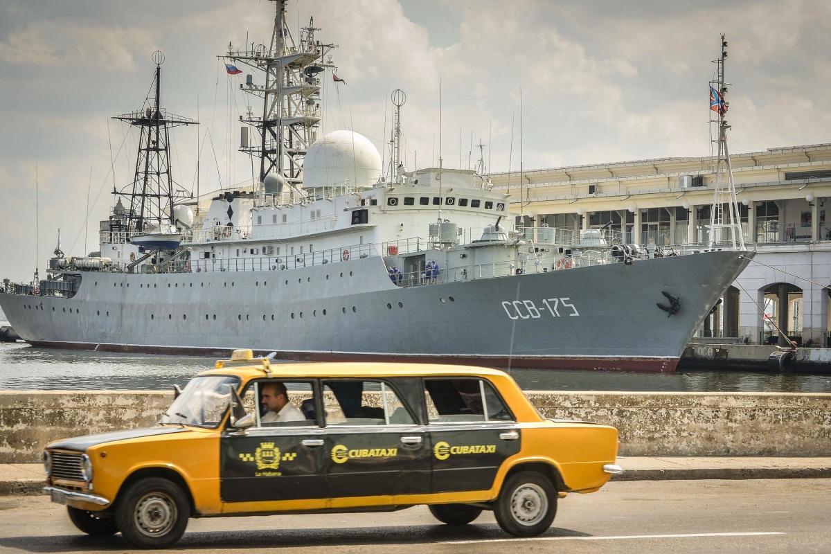 Image: CUBA-RUSSIA-WARSHIP-VIKTOR LEONOV