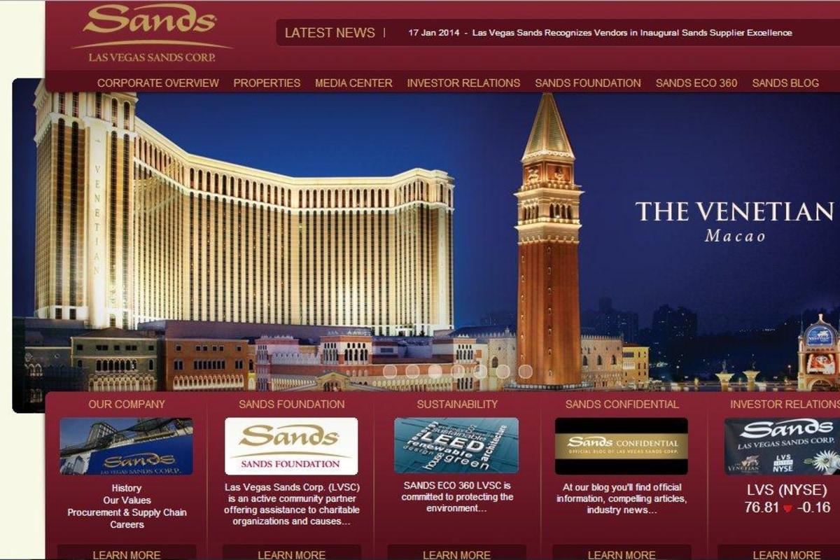 Sands Casino Website Hacking: Some Customers' Data Was Stolen ...
