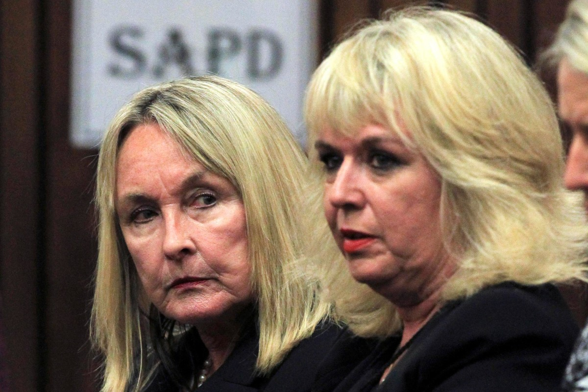 Image: June Steenkamp sits in court ahead of the trial of Olympic and Paralympic track star Pistorius in Pretoria