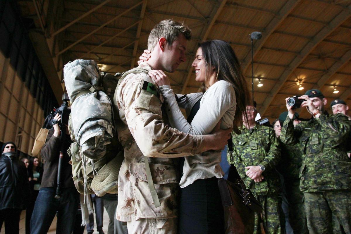 Image: CANADA-AFGHANISTAN-MILITARY-RETURN
